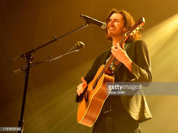 Recording artist Hozier performs in concert during his Wasteland Baby Tour at Coca Cola Roxy on March 23 2019 in Atlanta Georgia