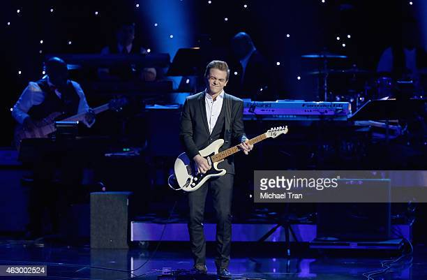 Recording artist Hunter Hayes performs onstage during The 57th Annual GRAMMY Awards premiere ceremony at STAPLES Center on February 8 2015 in Los...