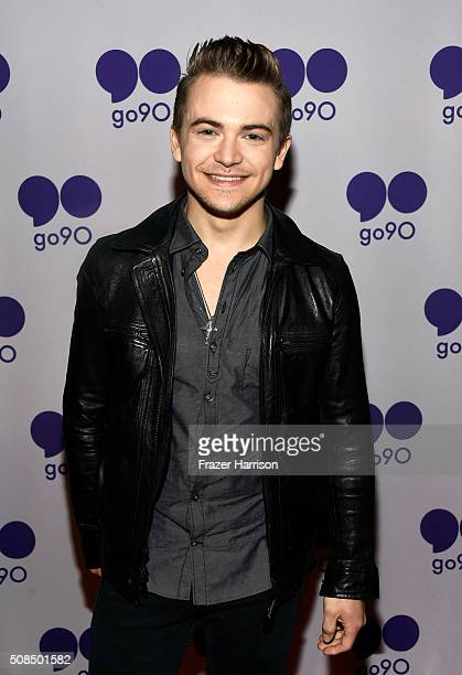 Recording artist Hunter Hayes poses during the go90 Live Concert Series Celebrating Super Bowl 50 at The Regency Ballroom on February 4 2016 in San...