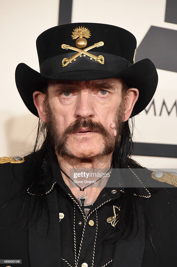 Recording artist Ian 'Lemmy' Kilmister of music group Motorhead attends The 57th Annual GRAMMY Awards at the STAPLES Center on February 8, 2015 in Los Angeles, California.
