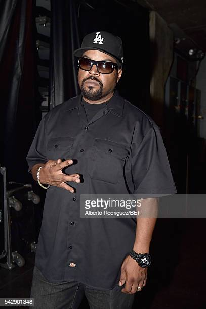 Recording artist Ice Cube attends the 2016 BET Experience at Staples Center on June 24 2016 in Los Angeles California