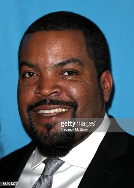 Recording artist Ice Cube attends The Simon Wiesenthal Center's 2017 National Tribute Dinner at The Beverly Hilton Hotel on April 5 2017 in Beverly...