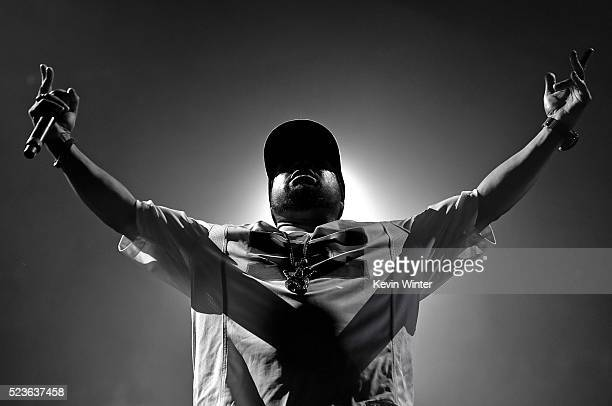 Recording artist Ice Cube performs onstage during day 2 of the 2016 Coachella Valley Music & Arts Festival Weekend 2 at the Empire Polo Club on April...