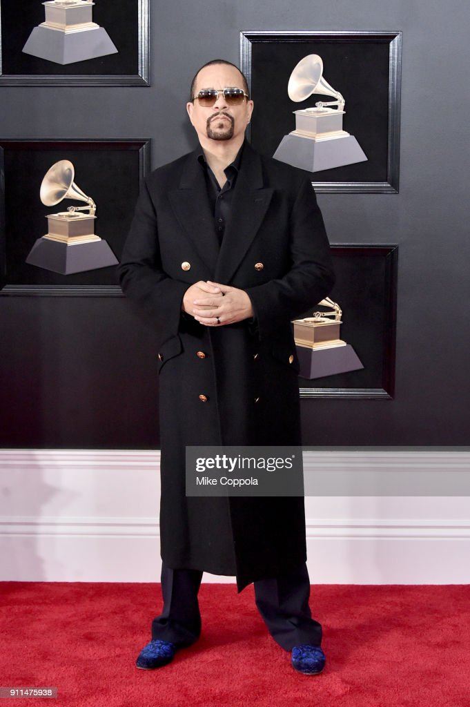 Recording artist Ice-T attends the 60th Annual GRAMMY Awards at Madison Square Garden on January 28, 2018 in New York City.