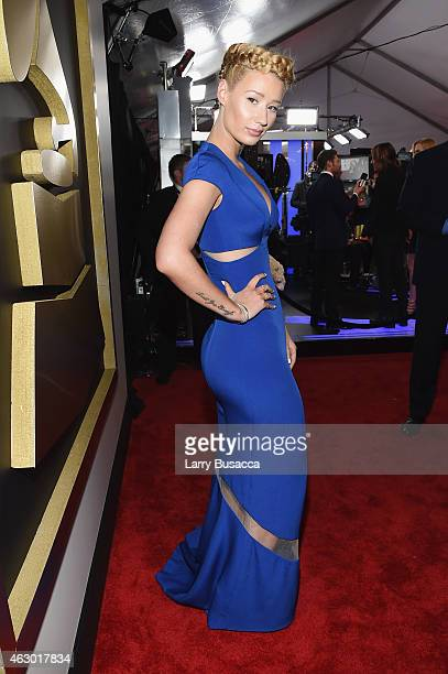 Recording Artist Iggy Azalea attends The 57th Annual GRAMMY Awards at the STAPLES Center on February 8 2015 in Los Angeles California