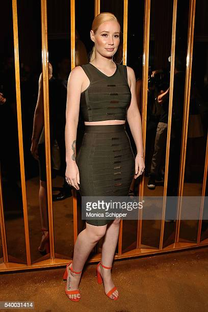 Recording artist Iggy Azalea attends the EPIX New York Premiere of 'Serena' on June 13 2016 in New York City
