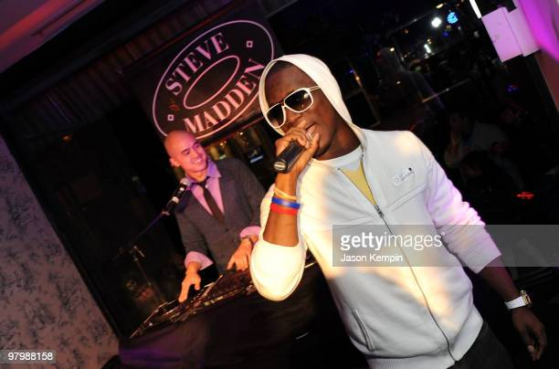 Recording artist Iyaz performs at the Steven by Steve Madden event on March 23 2010 in New York City