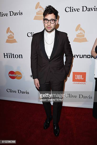 Recording artist Jack Antonoff attends the 2016 Pre-GRAMMY Gala and Salute to Industry Icons honoring Irving Azoff at The Beverly Hilton Hotel on...