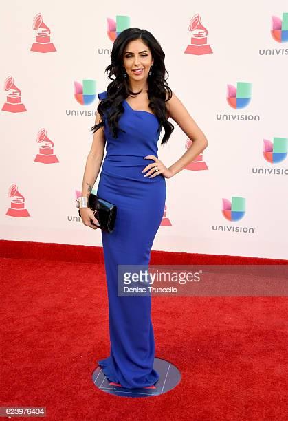 Recording artist Jackie Hernandez attends The 17th Annual Latin Grammy Awards at TMobile Arena on November 17 2016 in Las Vegas Nevada