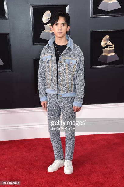 Recording artist Jackson Y attends the 60th Annual GRAMMY Awards at Madison Square Garden on January 28 2018 in New York City