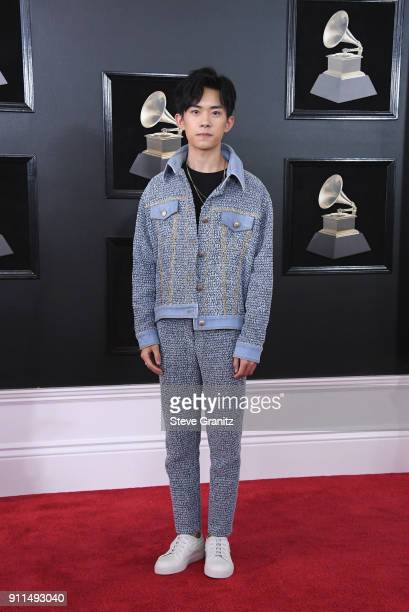 Recording artist Jackson Yee attends the 60th Annual GRAMMY Awards at Madison Square Garden on January 28 2018 in New York City