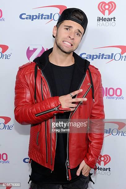 Recording artist Jake Miller attends Z100's Jingle Ball 2016 at Madison Square Garden on December 9 2016 in New York City