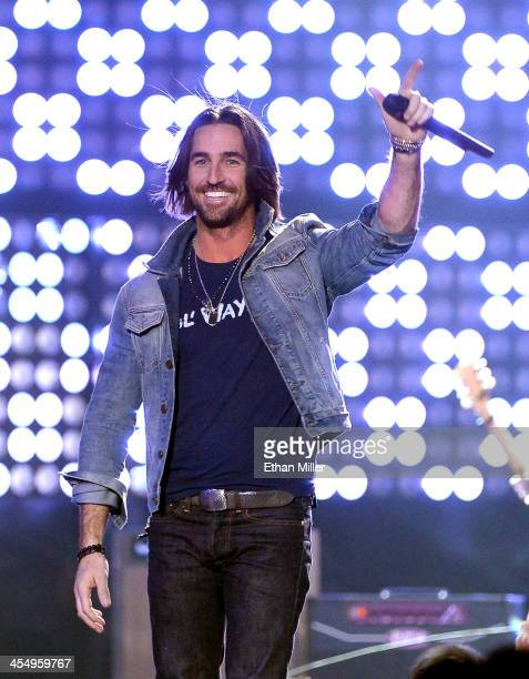Recording artist Jake Owen performs onstage during the American Country Awards 2013 at the Mandalay Bay Events Center on December 10, 2013 in Las...
