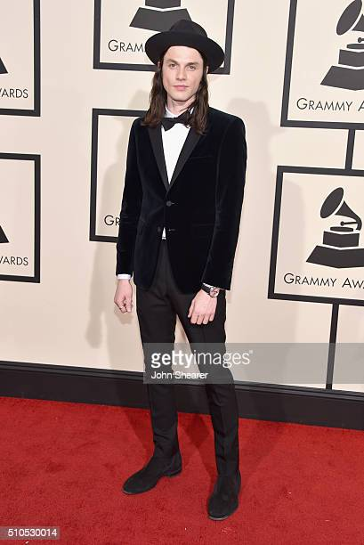 Recording artist James Bay attends The 58th GRAMMY Awards at Staples Center on February 15 2016 in Los Angeles California