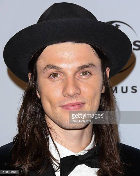 Recording Artist James Bay attends the Universal Music Group's 2016 GRAMMY after party at The Theatre At The Ace Hotel on February 15 2016 in Los...