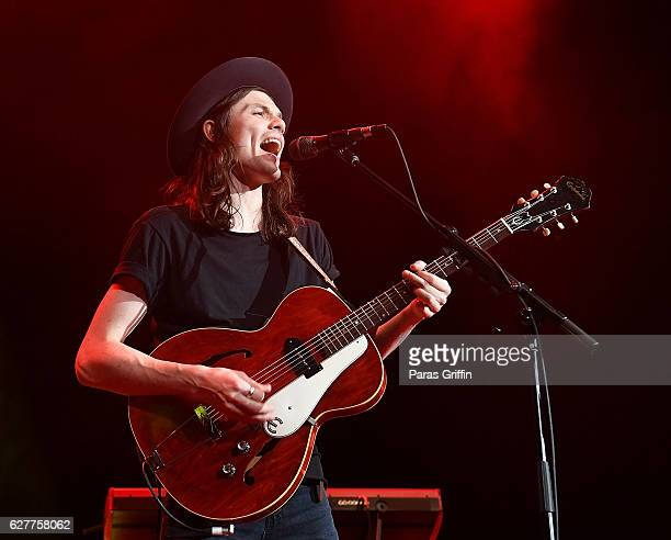 Recording artist James Bay performs in concert at Star 941 Jingle Jam at Infinite Energy Arena on December 4 2016 in Duluth Georgia