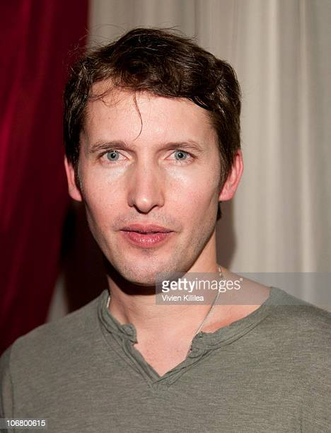 Recording artist James Blunt attends his Listening Party For 'Some Kind Of Trouble' at Drai's Lounge in W Hollywood on November 12 2010 in Hollywood...