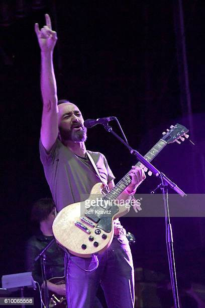 Recording artist James Mercer of The Shins performs onstage during day 1 of the 2016 Life Is Beautiful festival on September 23 2016 in Las Vegas...