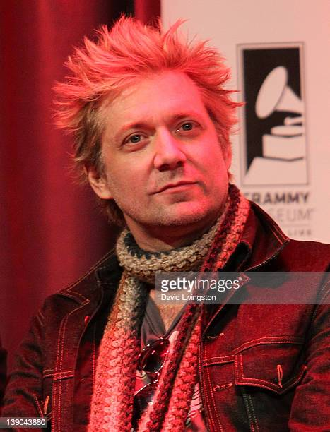 Recording artist James Michael attends the 4th Annual Revolver Golden God Awards nominees announcement at the GRAMMY Museum on February 15 2012 in...