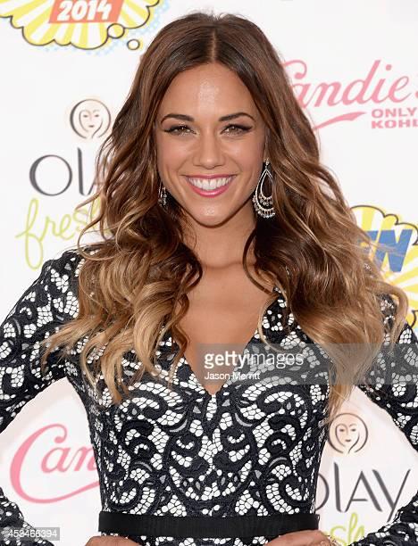 Recording artist Jana Kramer attends FOX's 2014 Teen Choice Awards at The Shrine Auditorium on August 10, 2014 in Los Angeles, California.