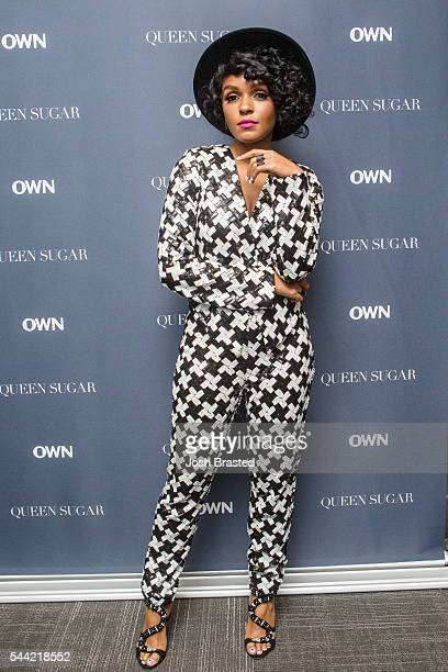 Recording Artist Janelle Monae attends a screening of 'Queen Sugar' at Theaters at Canal Place on July 1 2016 in New Orleans Louisiana