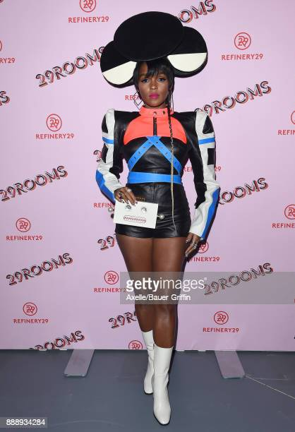 Recording artist Janelle Monae attends Refinery29 29Rooms Los Angeles Turn It Into Art at ROW DTLA on December 6 2017 in Los Angeles California