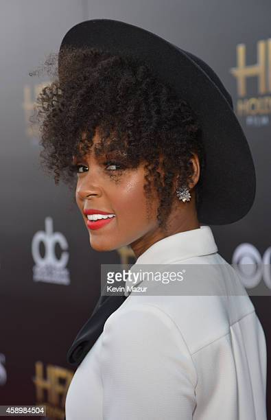 Recording artist Janelle Monae attends the 18th Annual Hollywood Film Awards at The Palladium on November 14 2014 in Hollywood California