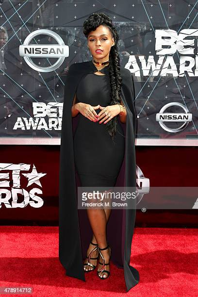 Recording artist Janelle Monae attends the 2015 BET Awards at the Microsoft Theater on June 28 2015 in Los Angeles California