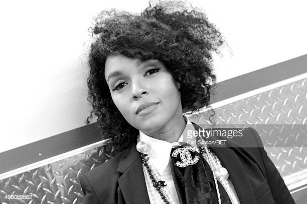 Recording artist Janelle Monae attends the 2015 Soul Train Music Awards at the Orleans Arena on November 6, 2015 in Las Vegas, Nevada.