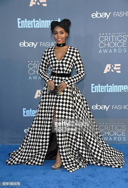 Recording artist Janelle Monae attends The 22nd Annual Critics' Choice Awards at Barker Hangar on December 11 2016 in Santa Monica California