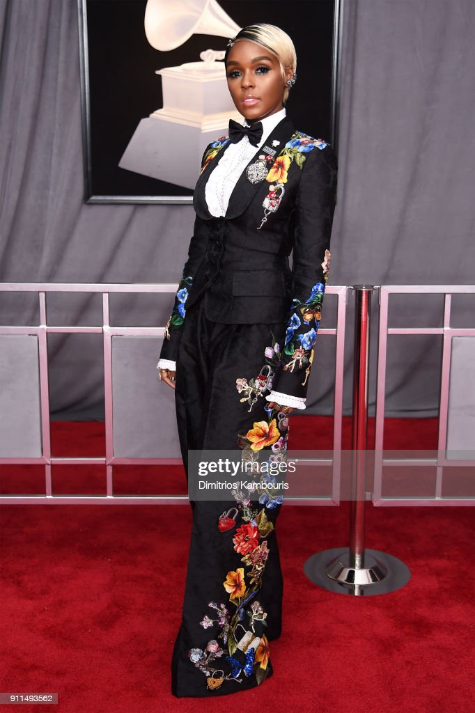 Recording artist Janelle Monae attends the 60th Annual GRAMMY Awards at Madison Square Garden on January 28, 2018 in New York City.