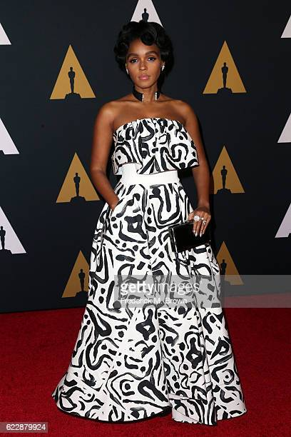 Recording artist Janelle Monae attends the Academy of Motion Picture Arts and Sciences' 8th annual Governors Awards at The Ray Dolby Ballroom at...