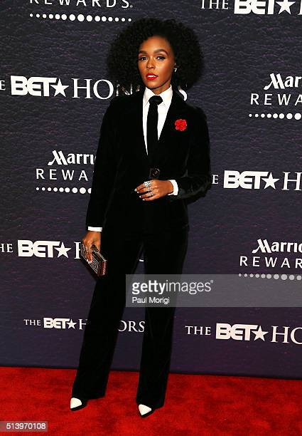 Recording artist Janelle Monae attends the BET Honors 2016 at Warner Theatre on March 5 2016 in Washington DC