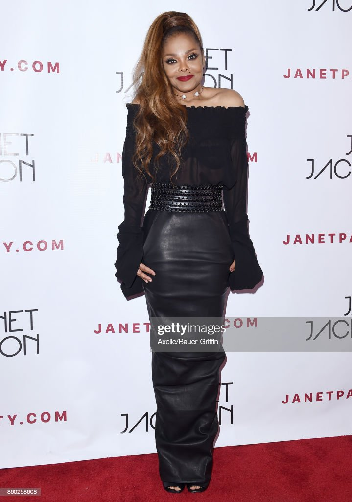 Recording artist Janet Jackson attends her State of the World Tour after party at Lure on October 8, 2017 in Los Angeles, California.