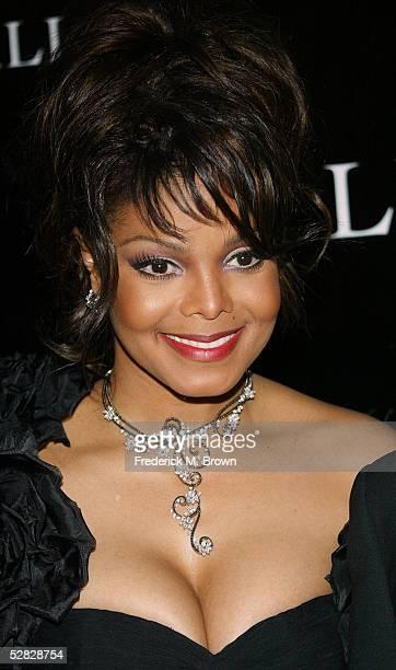 Recording artist Janet Jackson attends Oprah Winfrey's Legends Ball at the Bacara Resort and Spa on May 14 2005 in Santa Barbara California