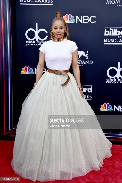 Recording artist Janet Jackson attends the 2018 Billboard Music Awards at MGM Grand Garden Arena on May 20 2018 in Las Vegas Nevada