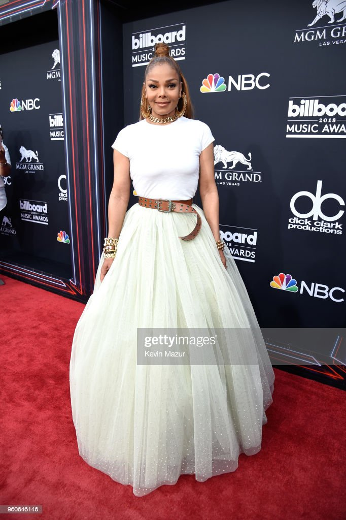 Recording artist Janet Jackson attends the 2018 Billboard Music Awards at MGM Grand Garden Arena on May 20, 2018 in Las Vegas, Nevada.