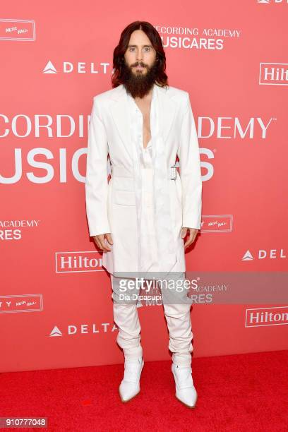Recording artist Jared Leto attends MusiCares Person of the Year honoring Fleetwood Mac at Radio City Music Hall on January 26 2018 in New York City