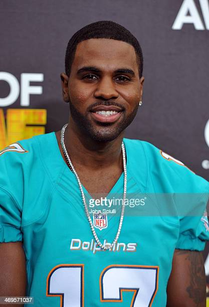 Recording artist Jason Derulo attends Cartoon Network's fourth annual Hall of Game Awards at Barker Hangar on February 15 2014 in Santa Monica...