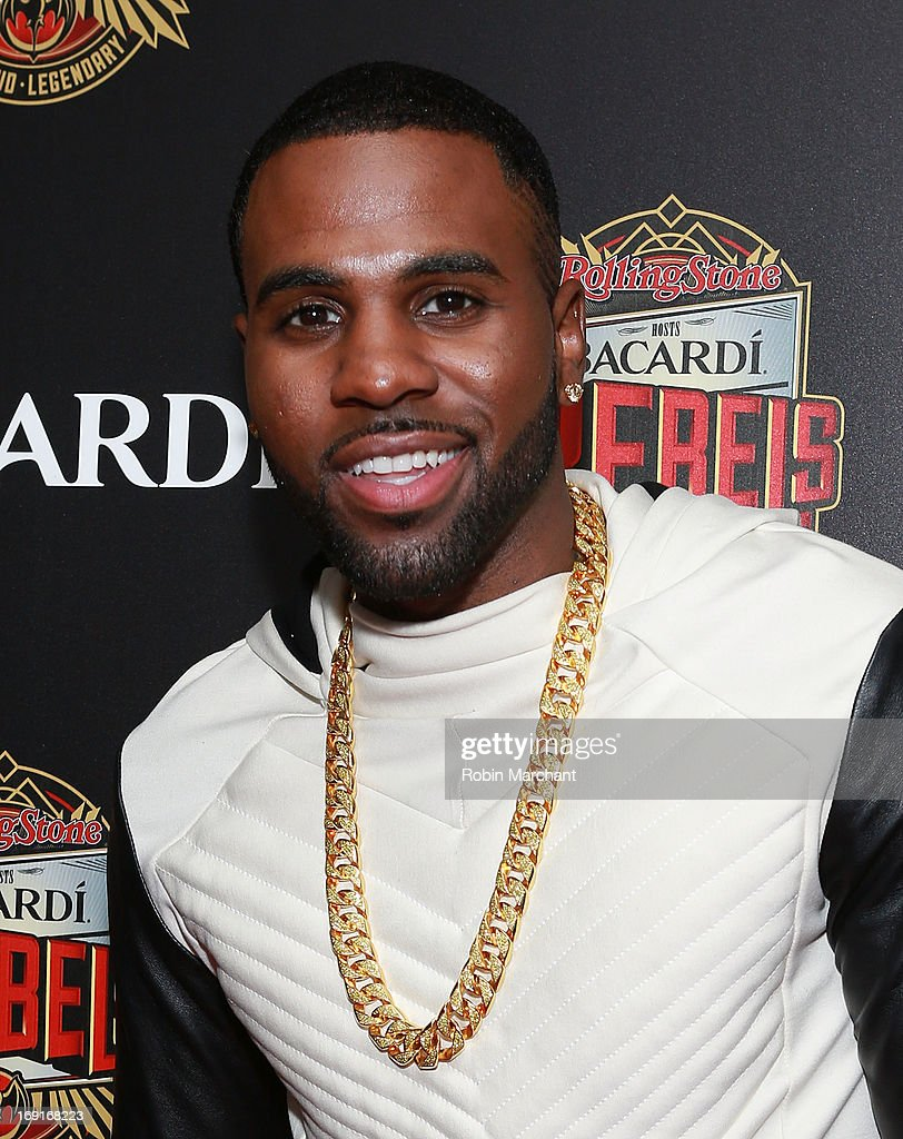 Recording artist Jason Derulo attends Inaugural Bacardi Rebels event hosted by Rolling Stone at Roseland Ballroom on May 20, 2013 in New York City.