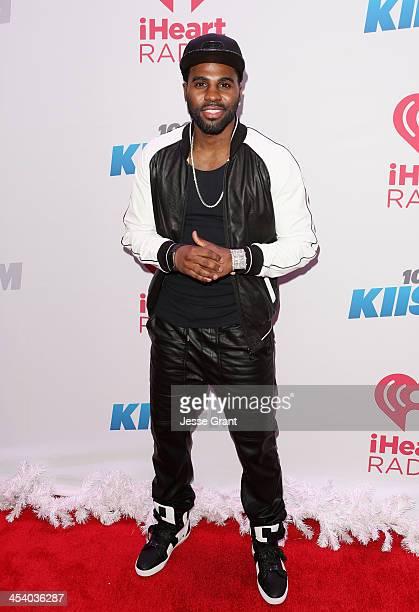 Recording artist Jason Derulo attends KIIS FM's Jingle Ball 2013 at Staples Center on December 6 2013 in Los Angeles CA