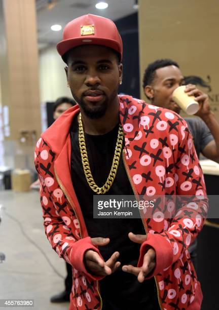 Recording artist Jason Derulo attends the 2014 iHeartRadio Music Festival at the MGM Grand Garden Arena on September 19 2014 in Las Vegas Nevada
