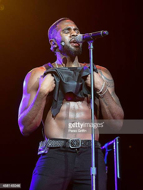 Recording artist Jason Derulo performs at Talk Dirty Tour Concert at The Tabernacle on October 30 2014 in Atlanta Georgia