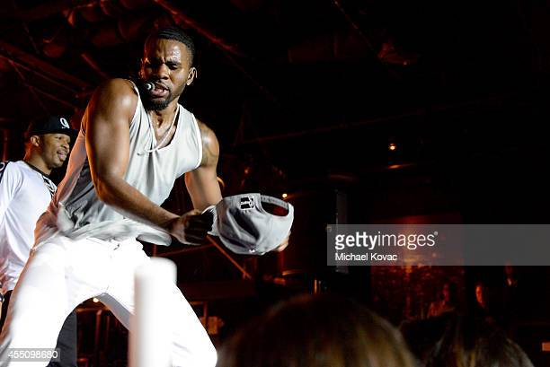 Recording artist Jason Derulo performs onstage during Glamorama Fashion Rocks presented by Macy's Passport at Create Nightclub on September 9 2014 in...