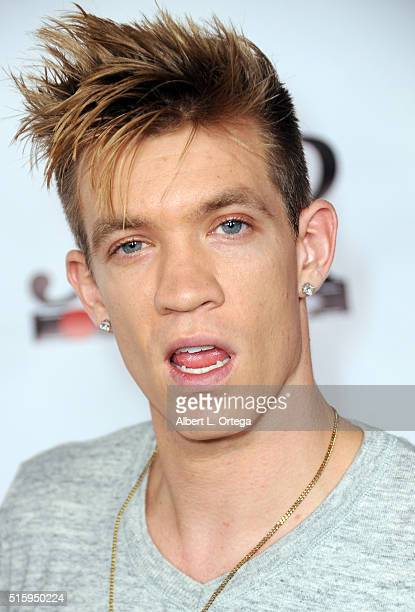 Recording Artist Jay James arrives for the Premiere Of JR Productions' Halloweed held at TCL Chinese 6 Theatres on March 15 2016 in Hollywood...