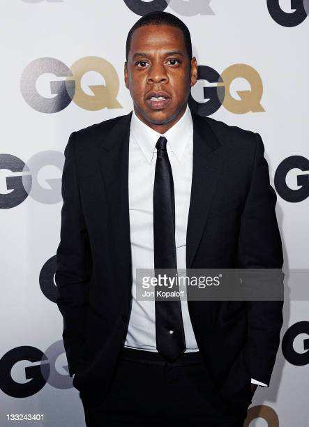 Recording artist JayZ arrives at the 16th Annual GQ 'Men Of The Year' Celebration at Chateau Marmont on November 17 2011 in Los Angeles California