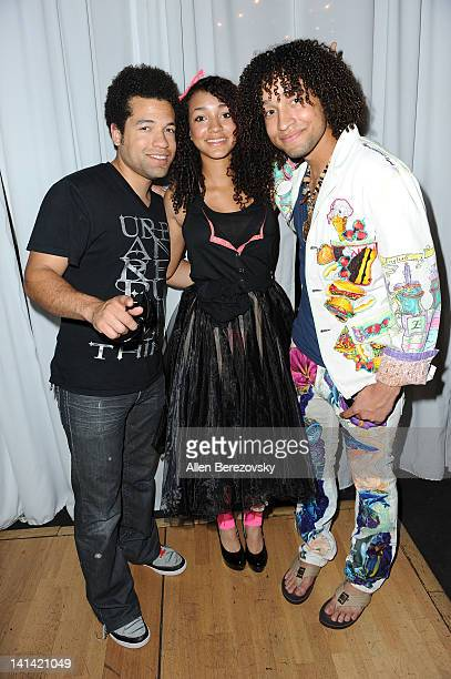 Recording artist JB Welch designer Courtney Allegra Welch and musicial Josh Welch of ROG attend the 1st Annual Hollywood's Top Designer Awards on...