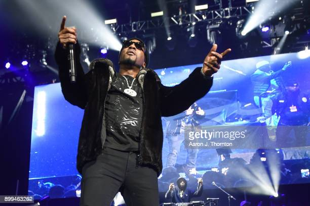 Recording Artist Jeezy performs on stage at The Big Show at Little Caesars Arena on December 28, 2017 in Detroit, Michigan.