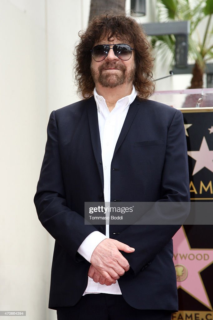 Recording artist Jeff Lynne attends his being honored with a Star on the Hollywood Walk of Fame on April 23, 2015 in Hollywood, California.