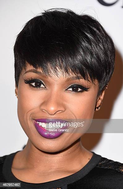 Recording artist Jennifer Hudson attends the PreGRAMMY Gala and Salute To Industry Icons honoring Martin Bandier on February 7 2015 in Los Angeles...